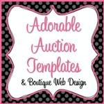 adorable auction templates top 100